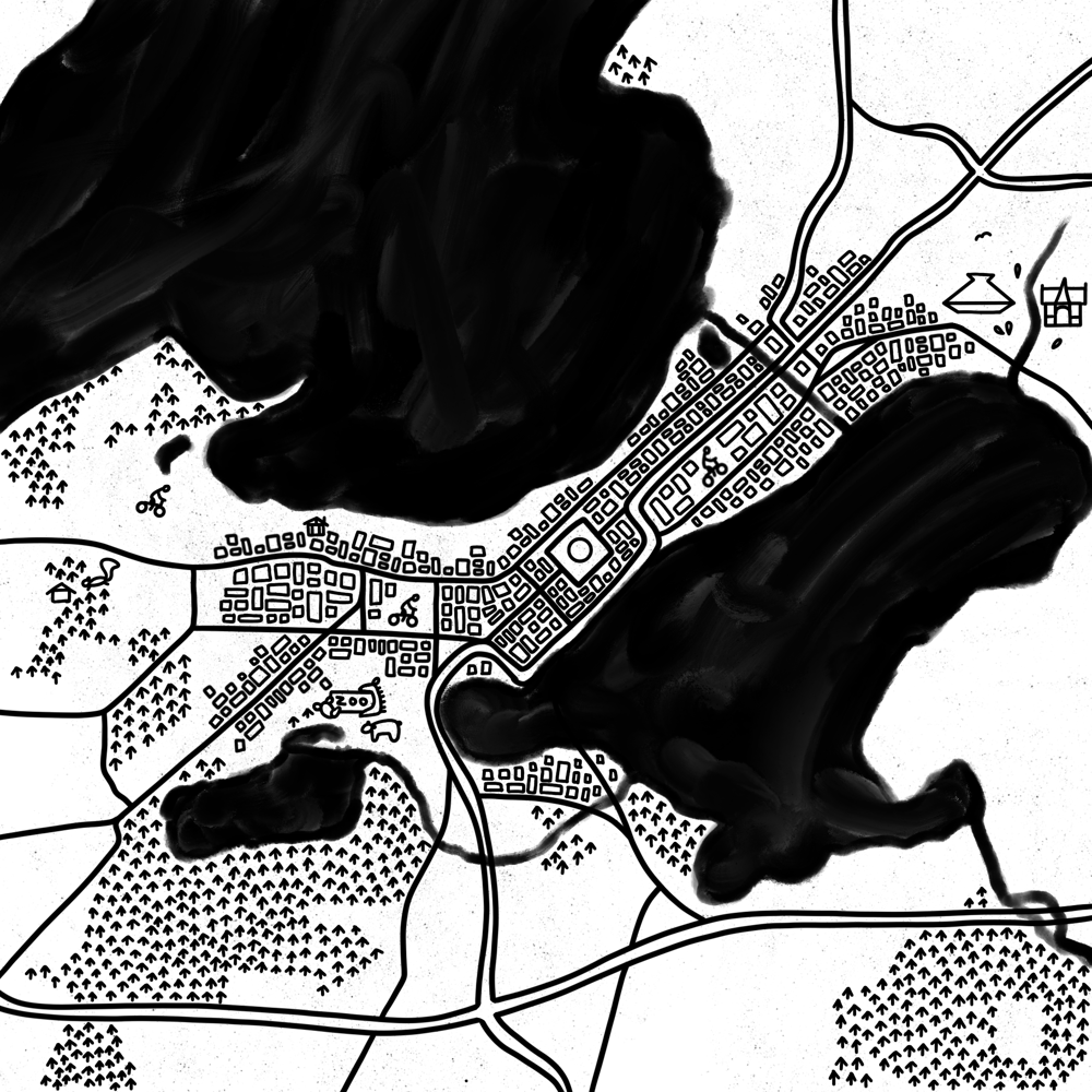 Hometown maps - image 2 - student project