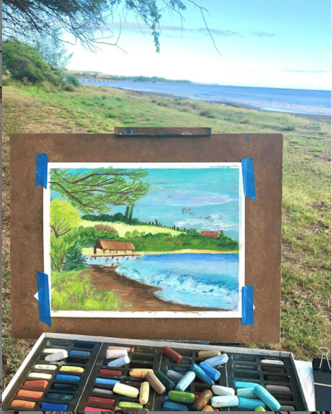 Plein Air Painting with Soft Patels - image 1 - student project