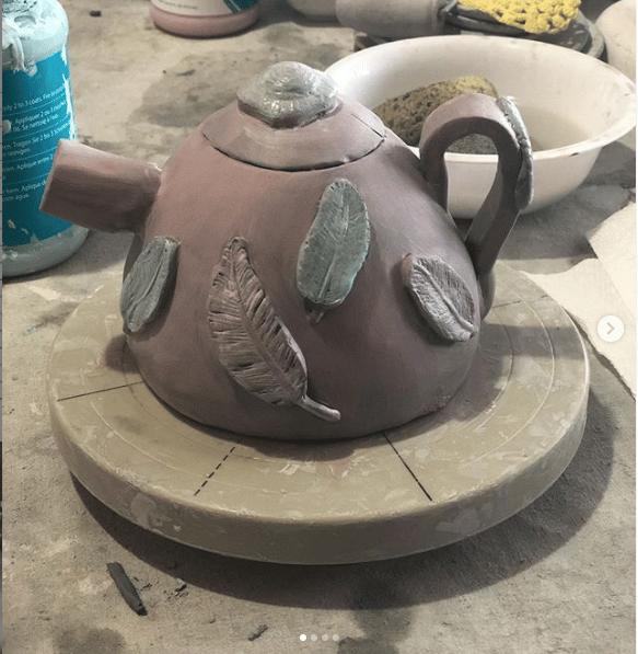 Ceramic Teapot - image 1 - student project