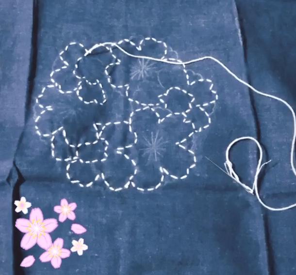 Sashiko Emberoidery - image 1 - student project