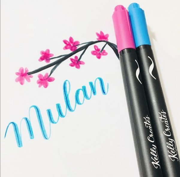 Hand lettering Mulan - image 1 - student project