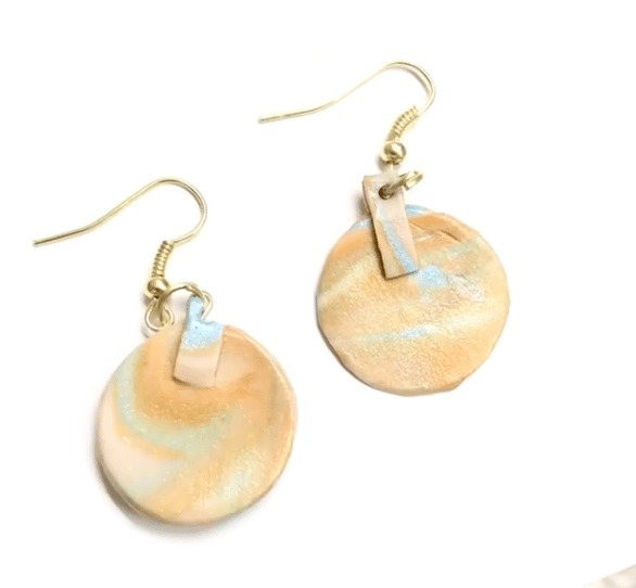 Polymer Clay Earring - image 1 - student project