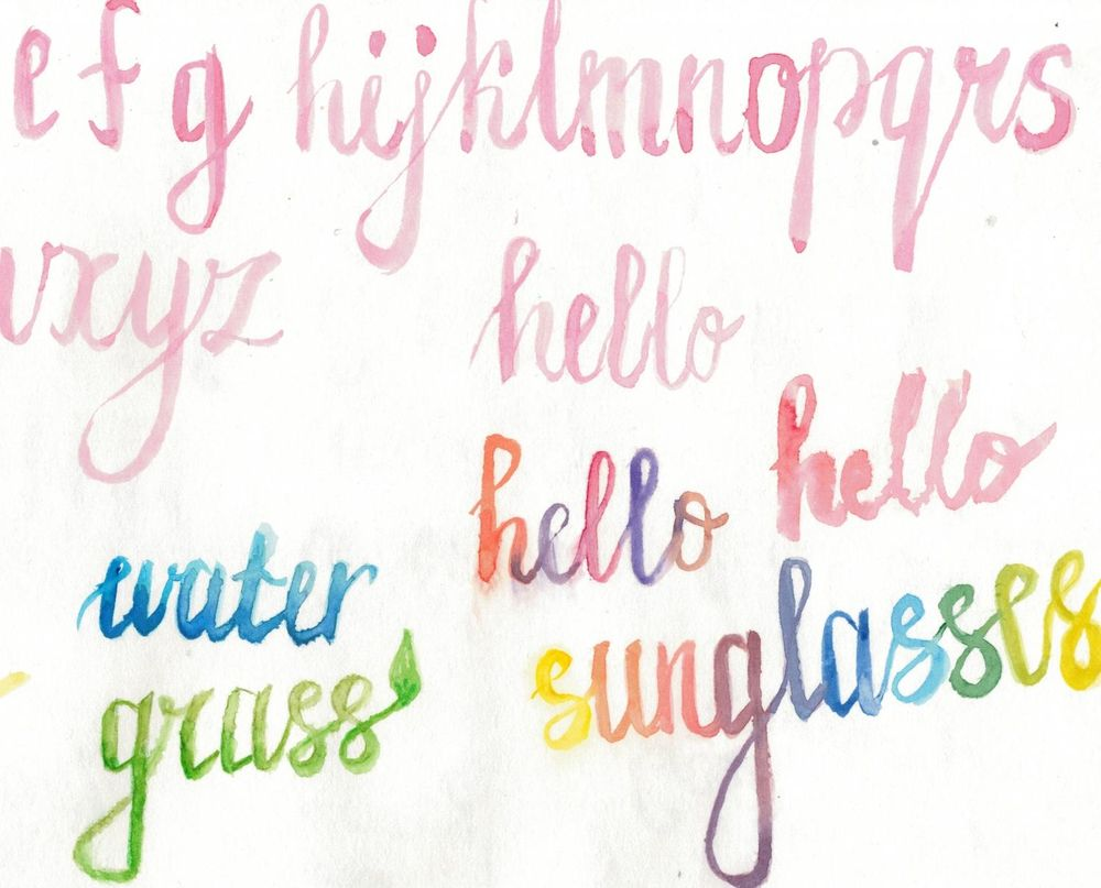 Watercolor Joy  - image 1 - student project