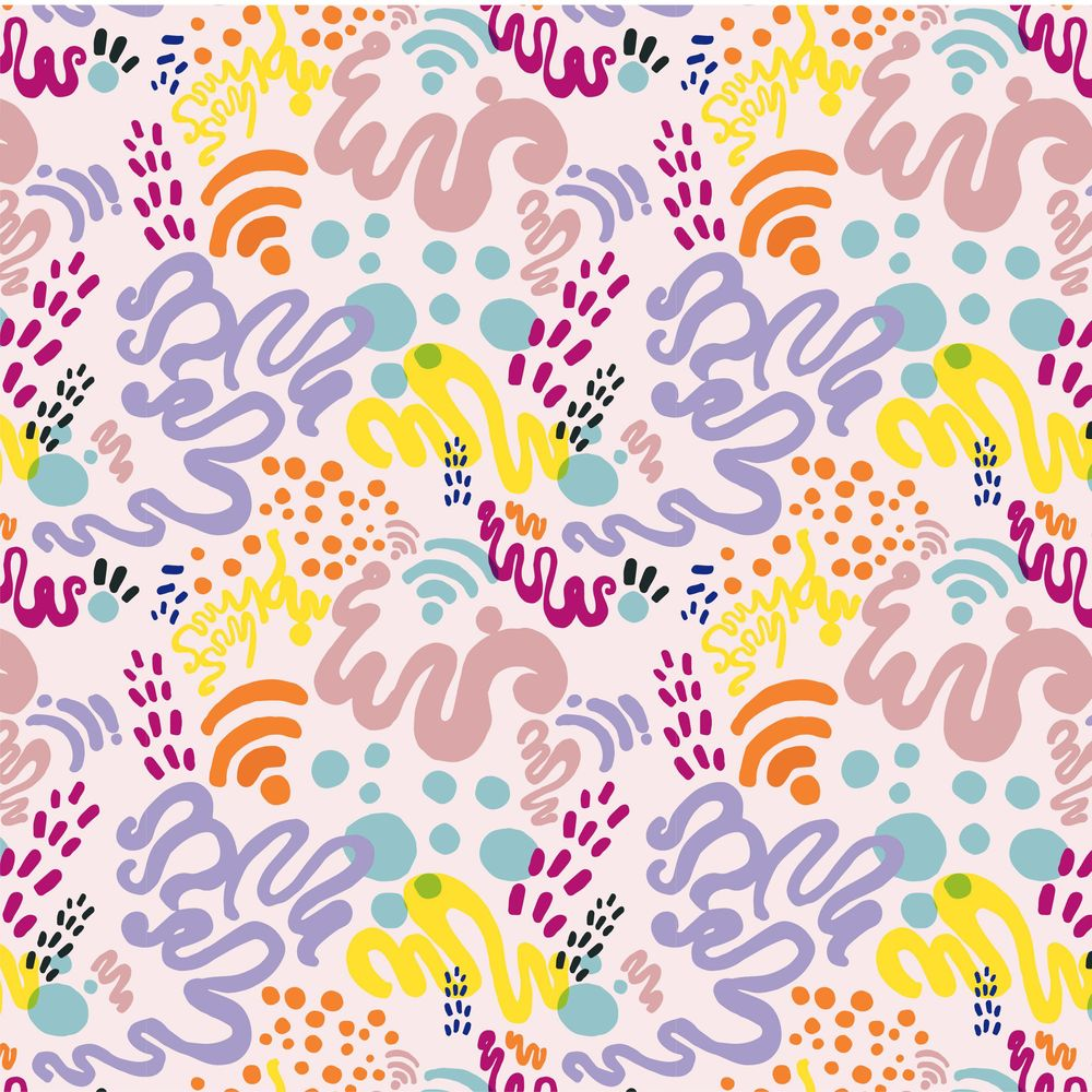 Oh So Jelly! - Abstract Pattern - image 1 - student project