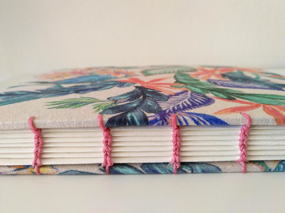 Coptic stitch sketchbook - image 1 - student project