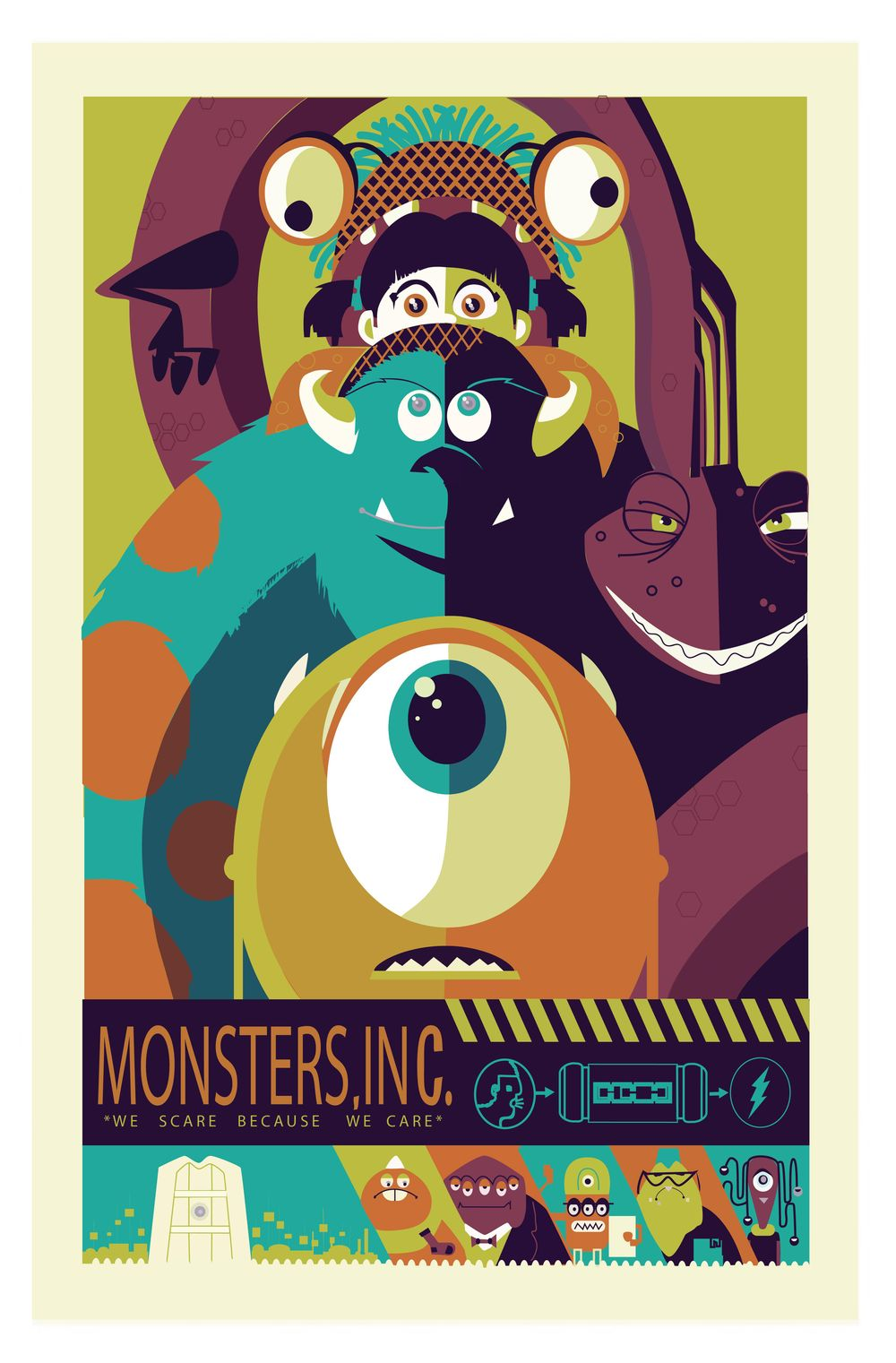 Monsters Inc - image 3 - student project