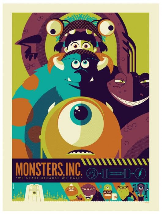 Monsters Inc - image 1 - student project