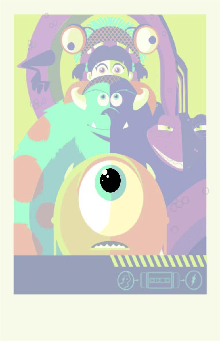 Monsters Inc - image 2 - student project