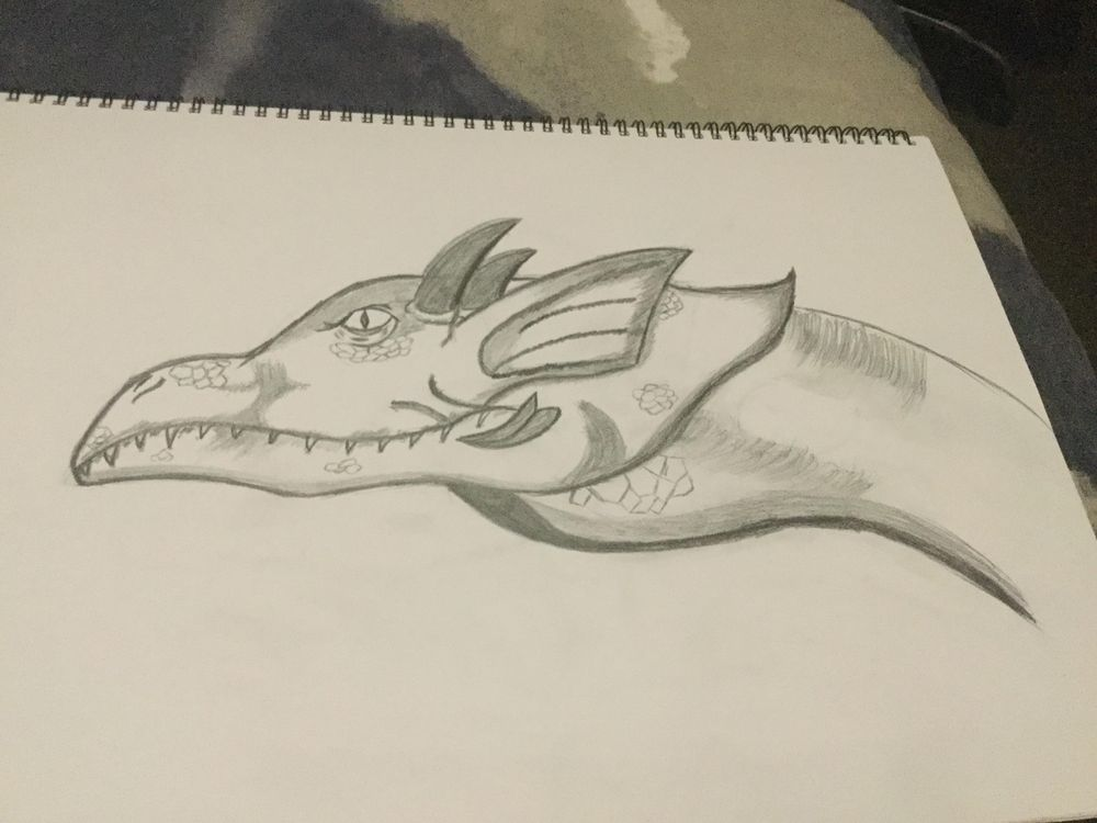 Dragon head - image 1 - student project