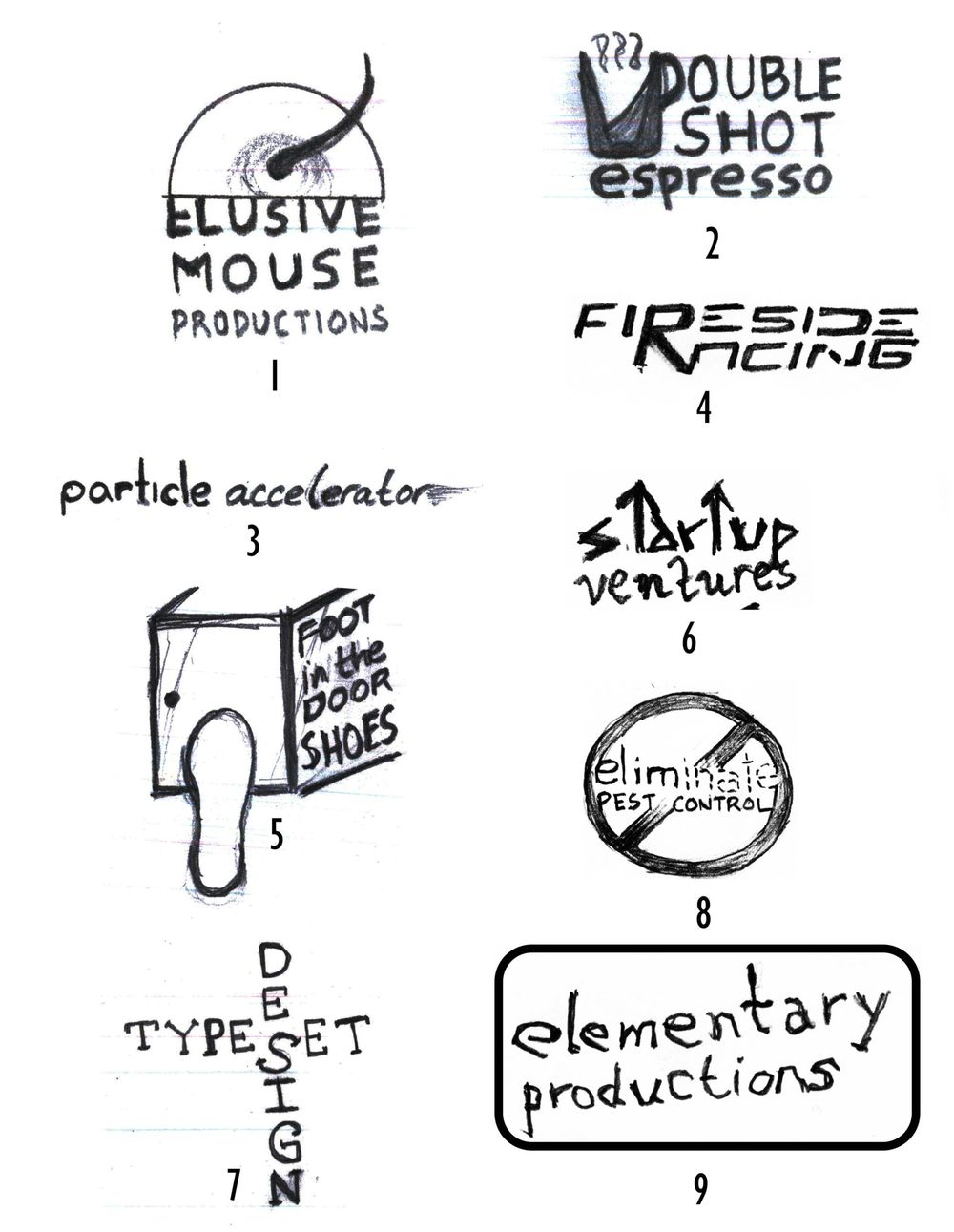Random Logos - image 1 - student project
