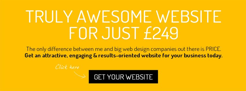 Truly Awesome website for just £249 - image 1 - student project