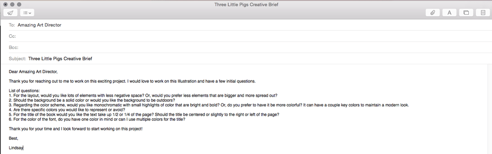 The Story of the 3 Little Pigs - image 1 - student project