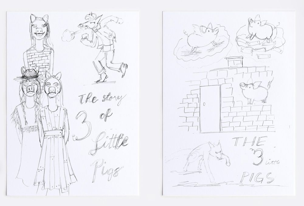 The Story of the 3 Little Pigs - image 2 - student project