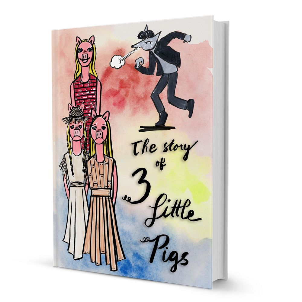 The Story of the 3 Little Pigs - image 5 - student project