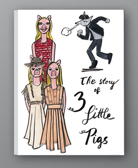 The Story of the 3 Little Pigs - image 4 - student project