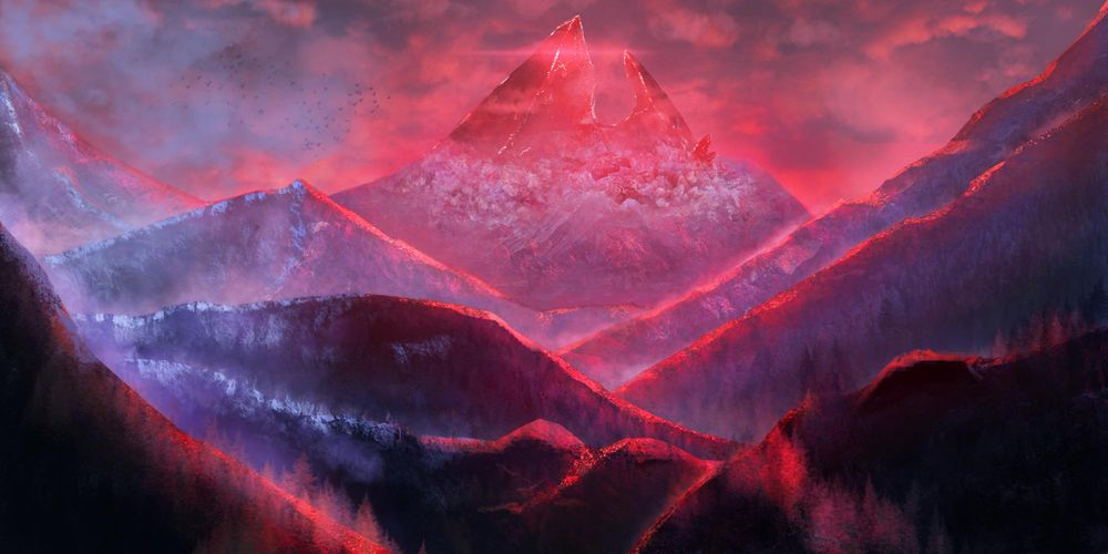 Crystal Mountains - image 1 - student project