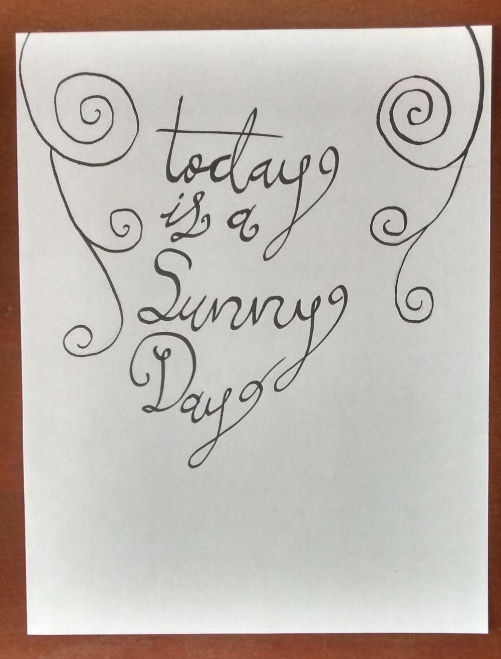 Sunny Day - image 2 - student project