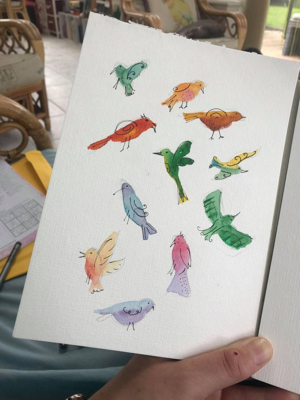 Quirky Bird Fun ! - image 2 - student project