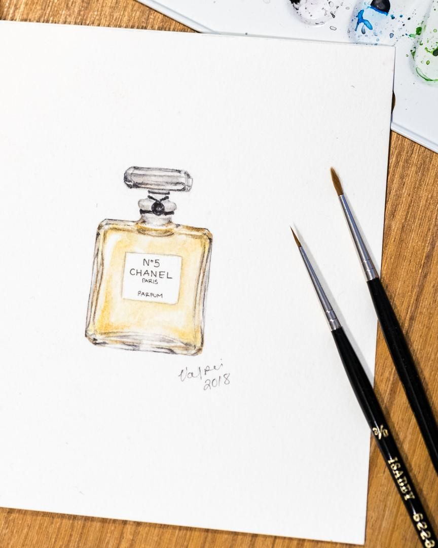 Chanel N°5 - image 2 - student project