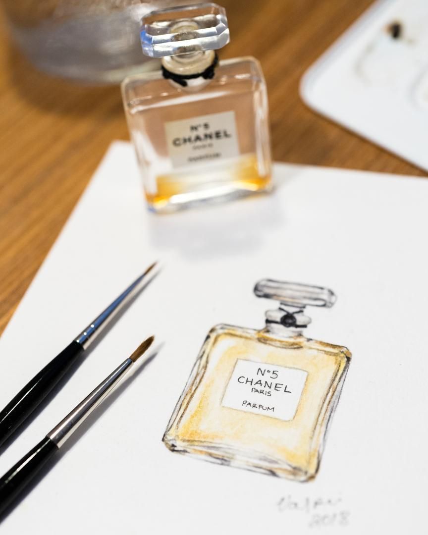 Chanel N°5 - image 1 - student project