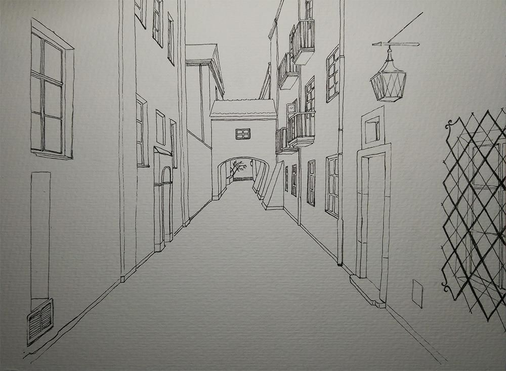 Warsaw street - image 2 - student project