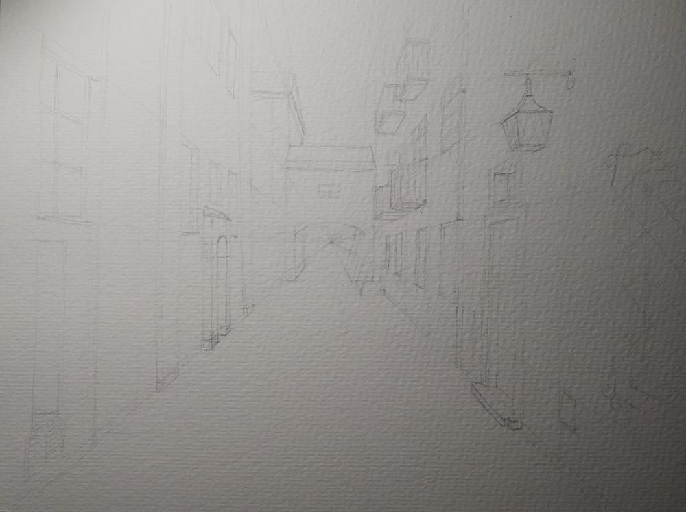 Warsaw street - image 1 - student project