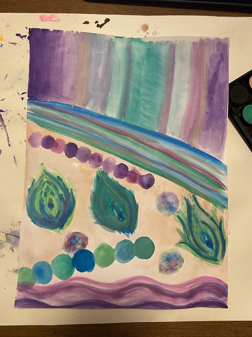 Mood painting - image 1 - student project