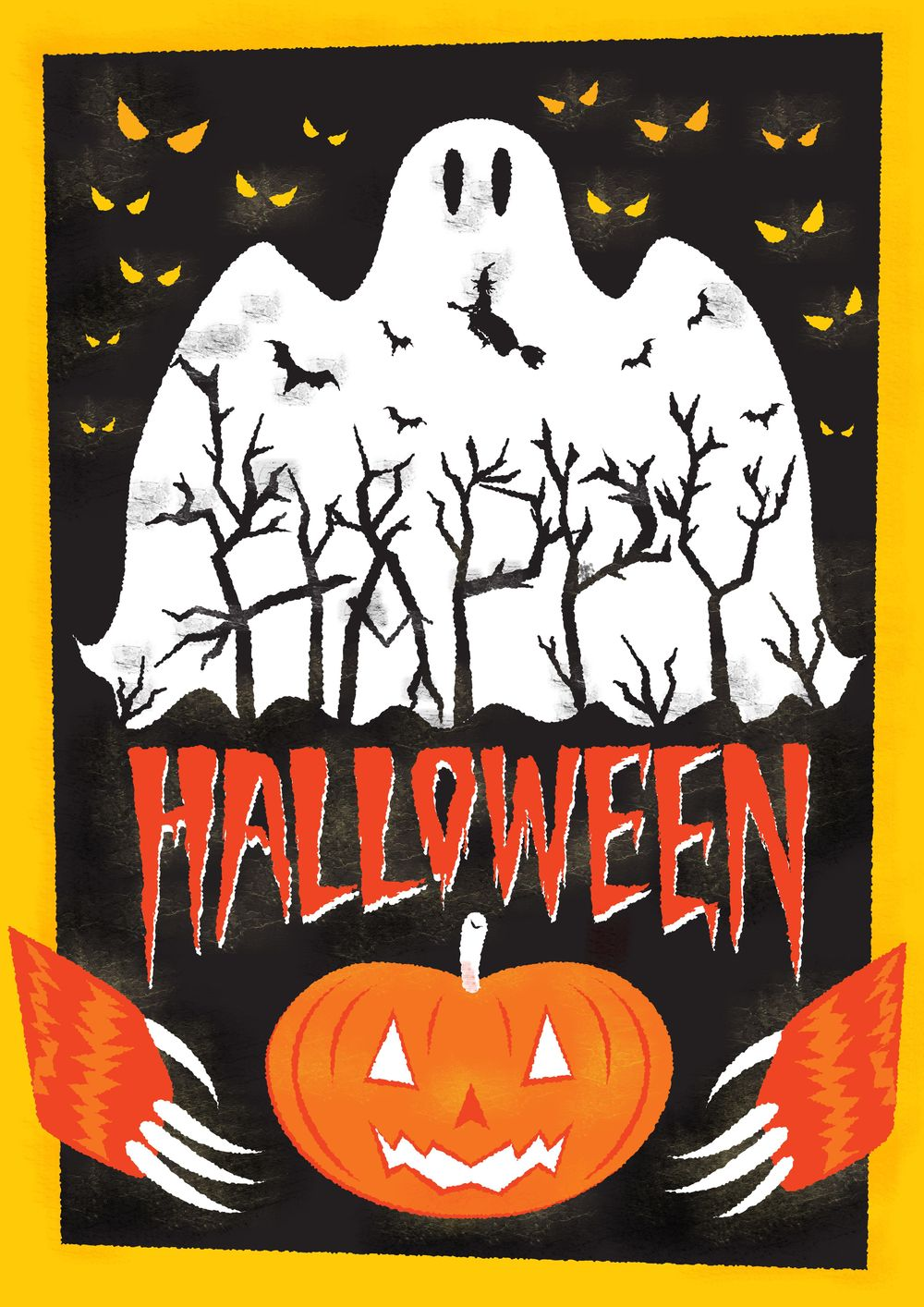 Challenge: Halloween Poster - image 1 - student project