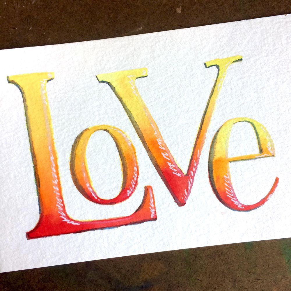 colorful letters! - image 2 - student project