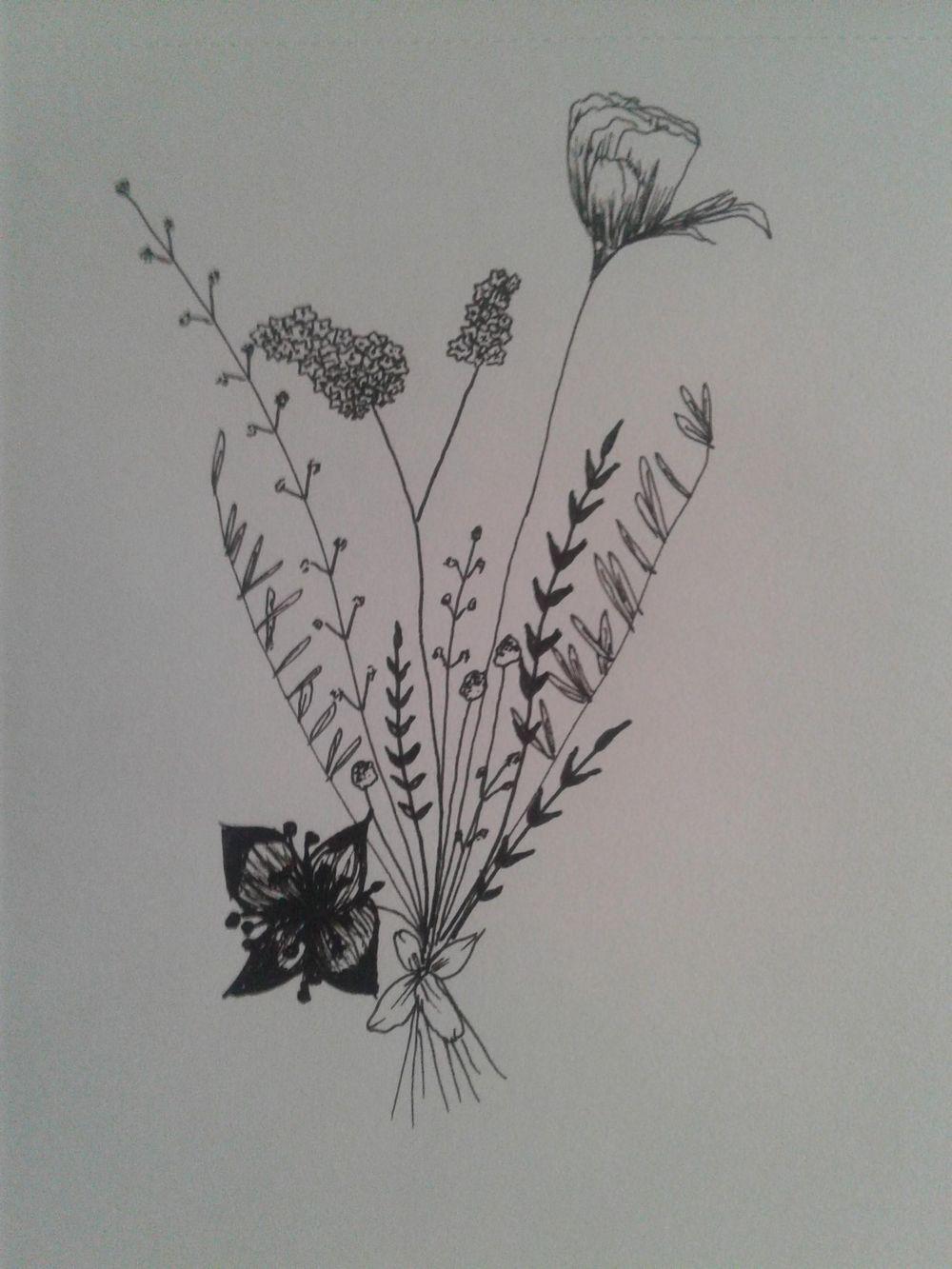 Floral Doodles - image 4 - student project