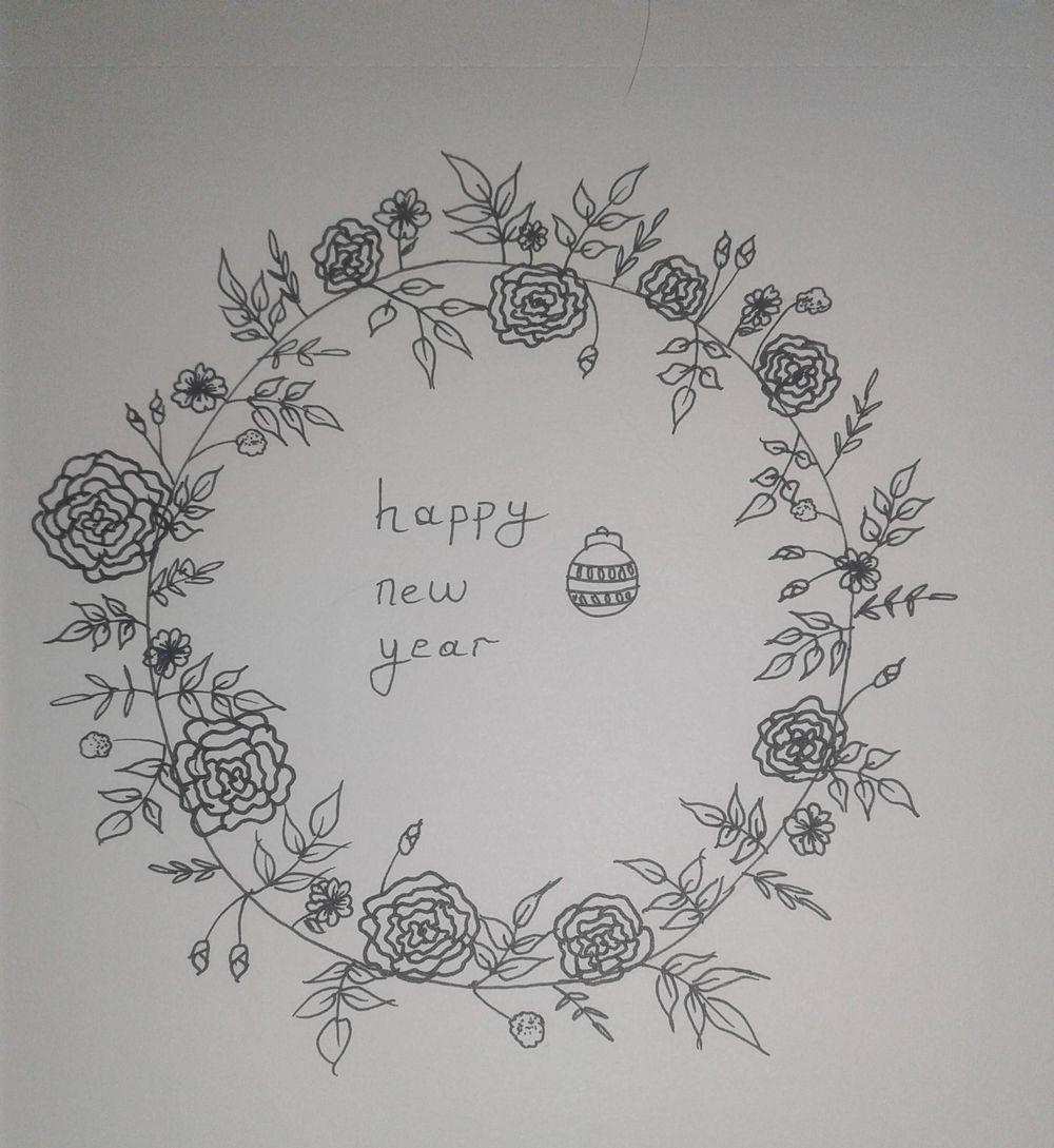 Floral Doodles - image 1 - student project