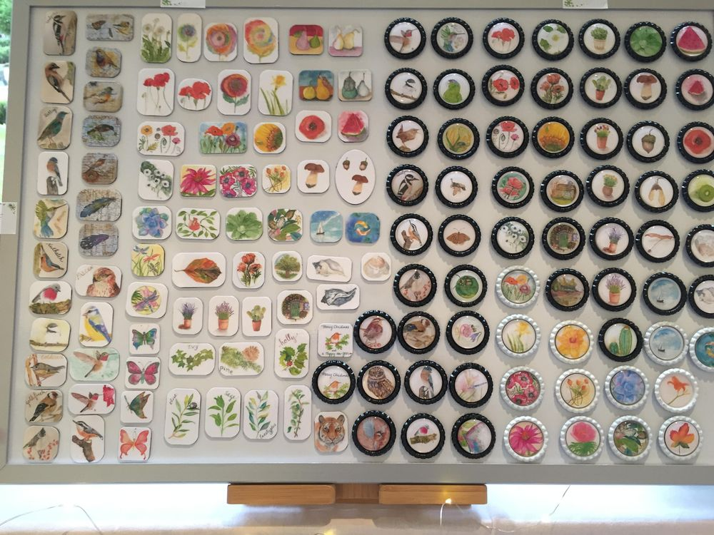 Refrigerator Magnets - image 1 - student project