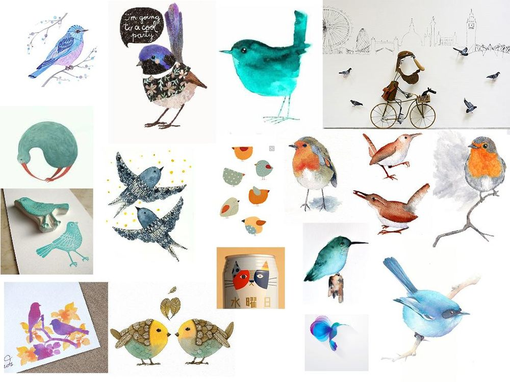 100 Birds - image 2 - student project