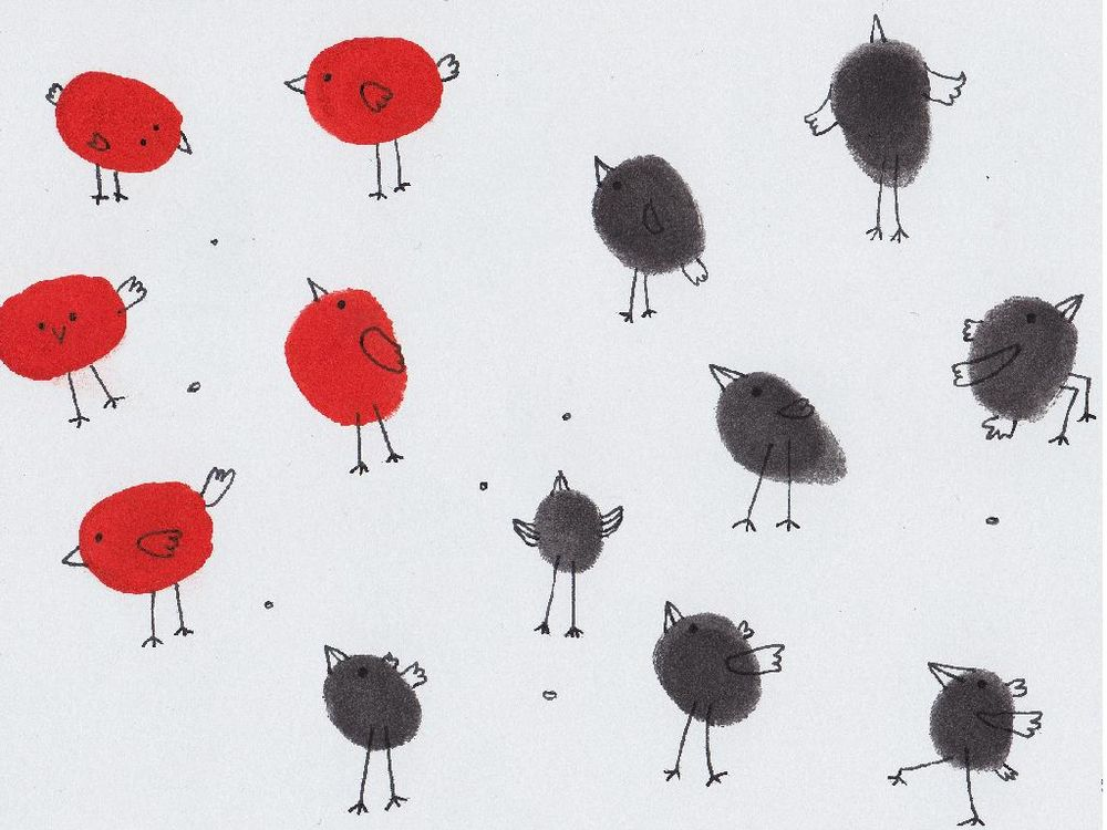 100 Birds - image 28 - student project