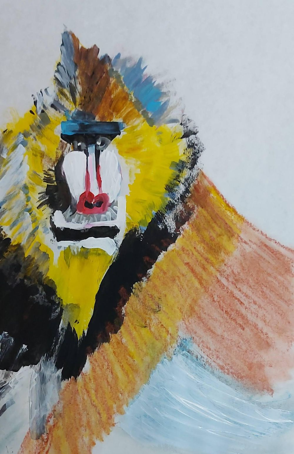 Abstract animal painting - image 8 - student project