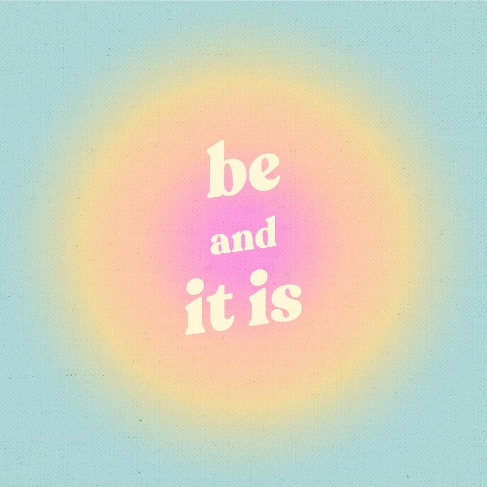 Be and It Is - image 1 - student project