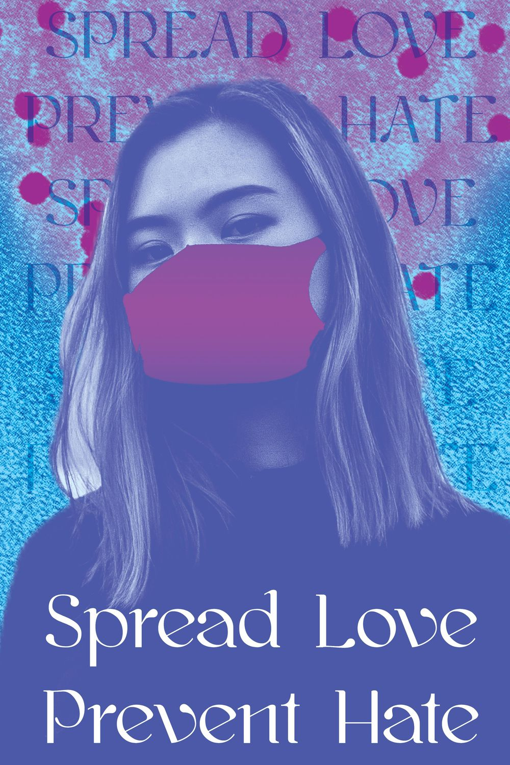 Spread Love Prevent Virus Posters - image 2 - student project