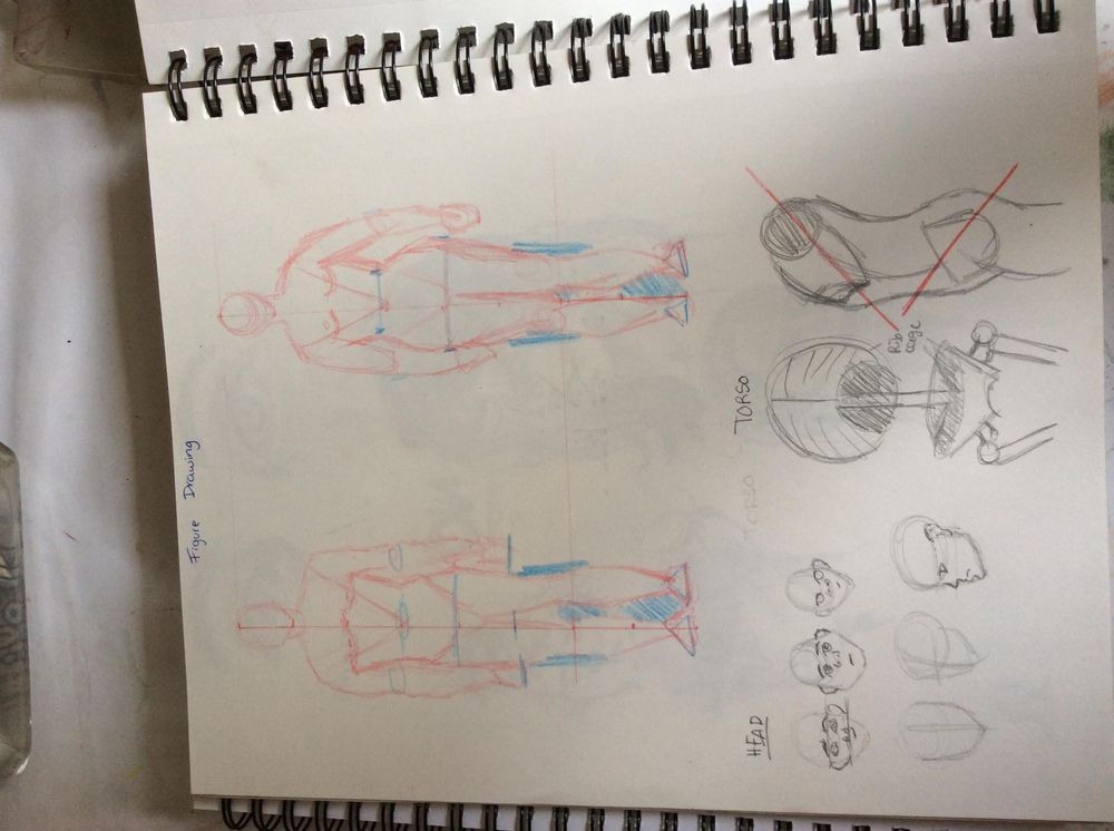 Figure drawing! - image 1 - student project