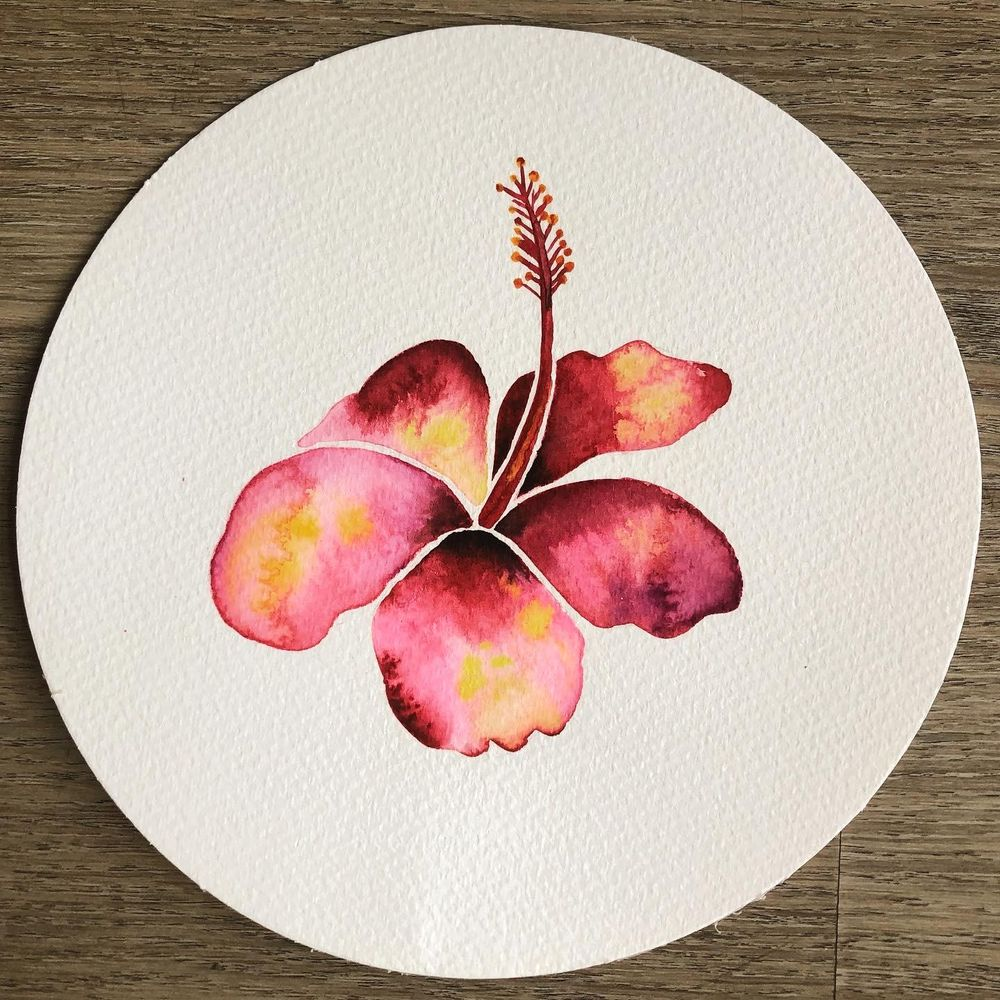 My Watercolor Botanicals - image 5 - student project