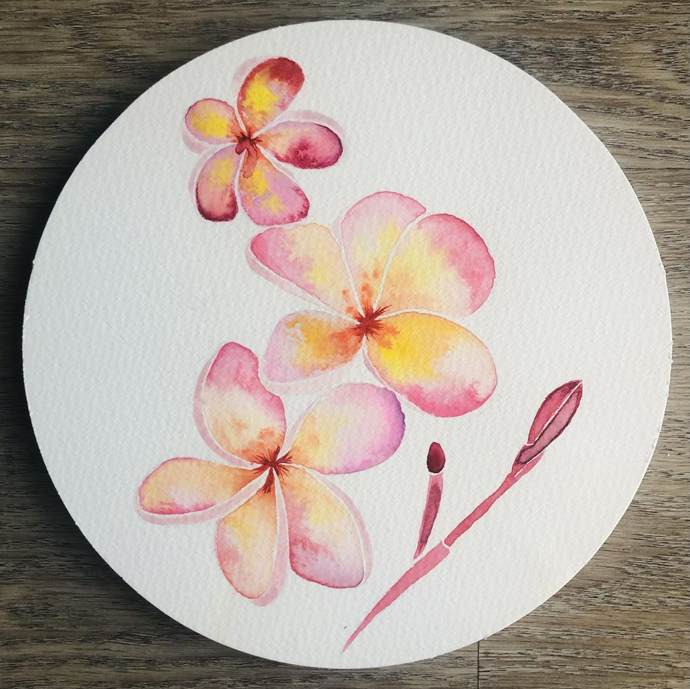 My Watercolor Botanicals - image 3 - student project