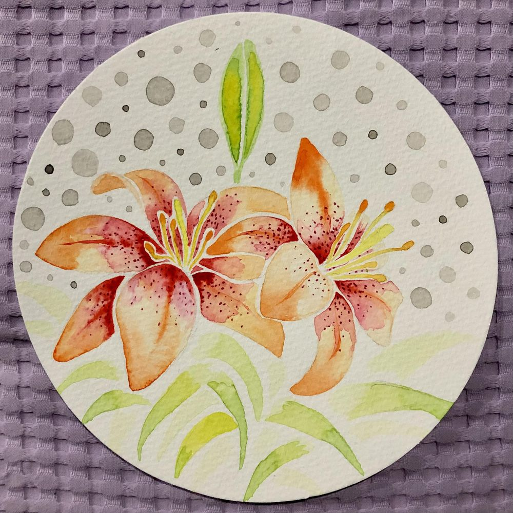 My Watercolor Botanicals - image 8 - student project