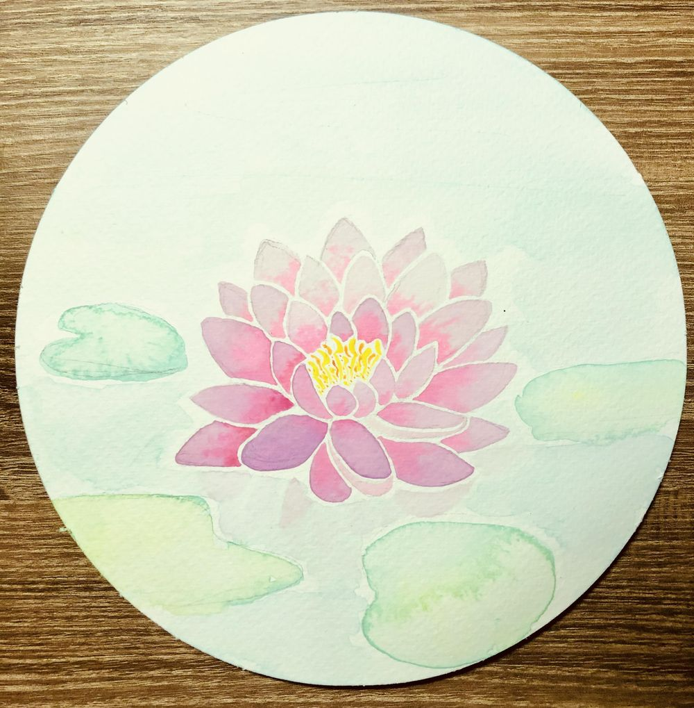 My Watercolor Botanicals - image 7 - student project