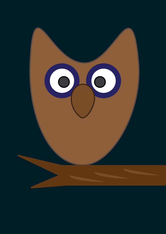 Sleepy Fox & Owl by Karla A. - image 1 - student project