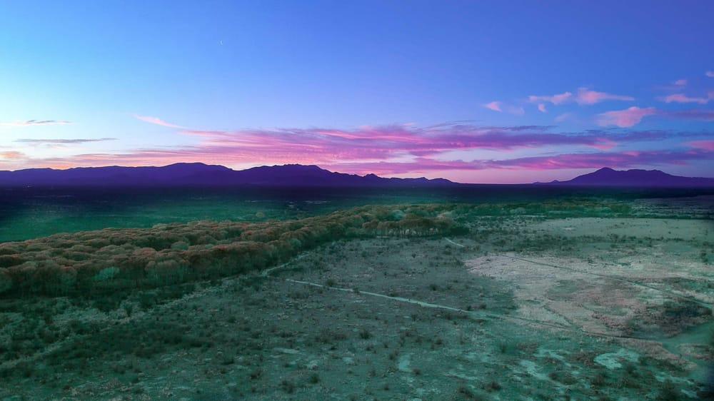 Brown Canyon Sunrise, San Pedro River sunrise, San Pedro pond - image 1 - student project
