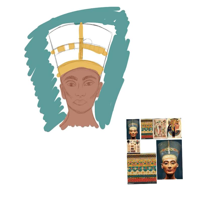Nefertiti - image 1 - student project