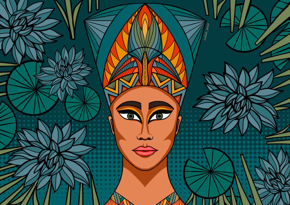 Nefertiti - image 2 - student project