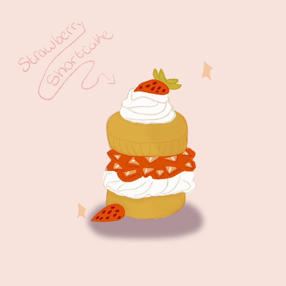 Strawberry Shortcake - image 1 - student project