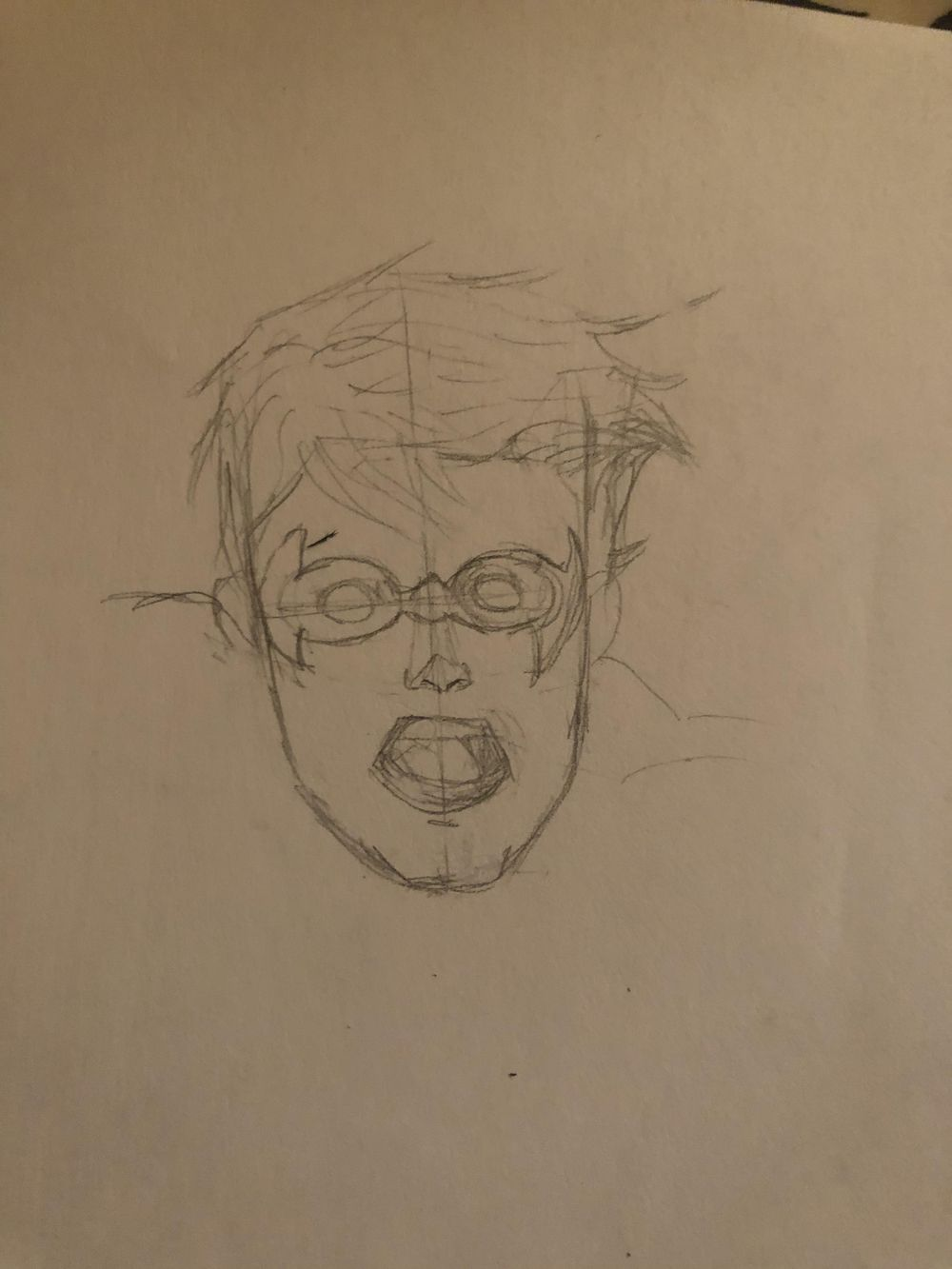Drawing Head Part 1 - image 2 - student project