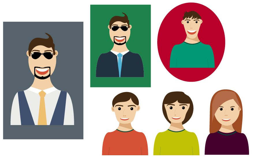 The Hipster Guy and variations - image 1 - student project