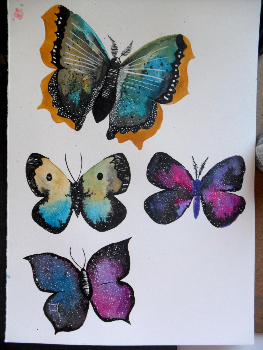 watercolor & ink - image 2 - student project